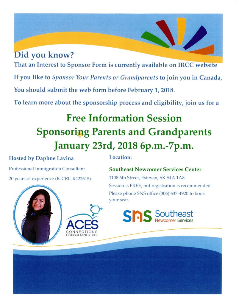 Sponsoring Parents and Grandparents to Canada Session