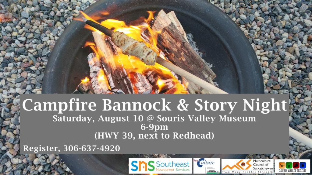 Campfire Bannock & Story Night