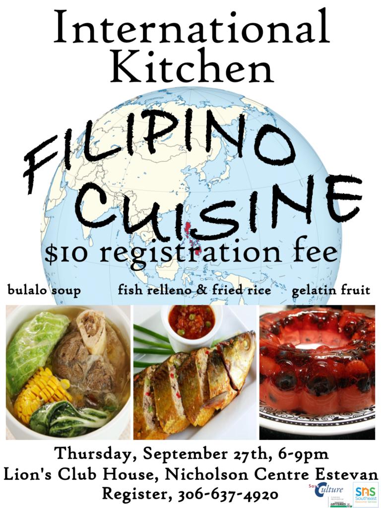International Kitchen Filipino Cuisine