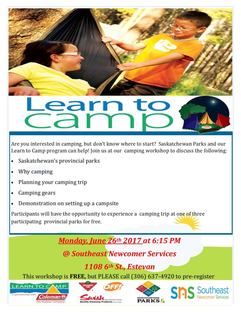 Learn to Camp Estevan