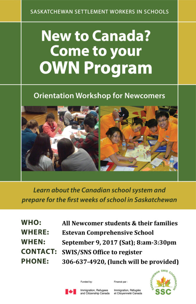Orientation Workshop for Newcomers