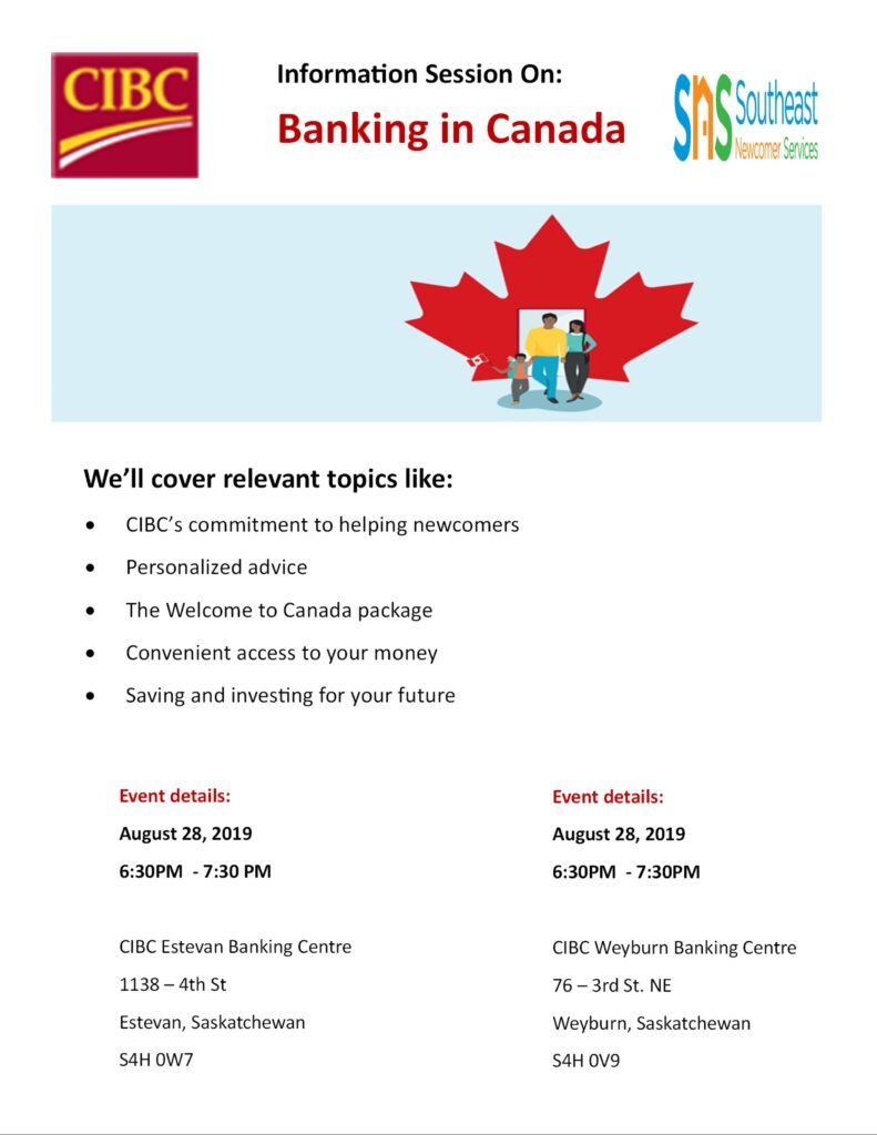 INFORMATION SESSION ON BANKING IN CANADA