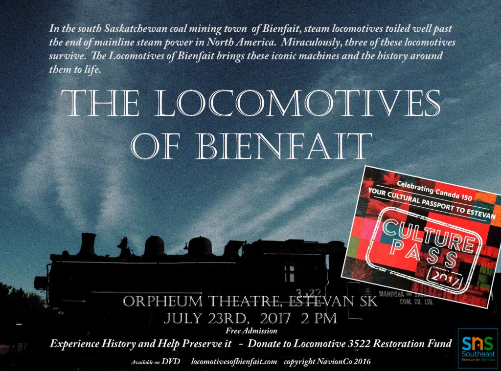 The Locomotives of Bienfait