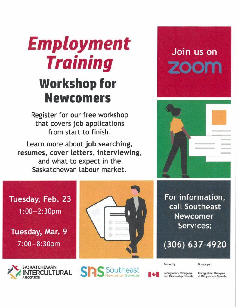 FREE Employment Training Workshop!!