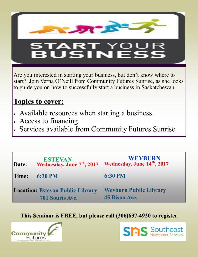 Start a Business Workshop