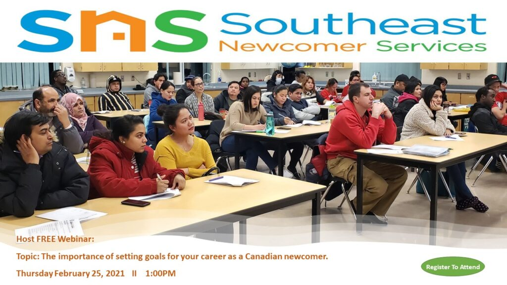 The importance of setting goals for your career as a Canadian newcomer
